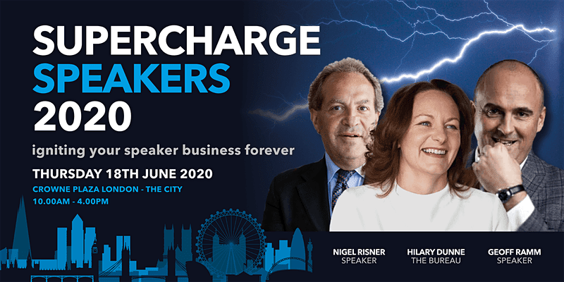 Supercharge Speakers Event